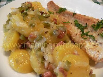 11 Teplý bramborový salát