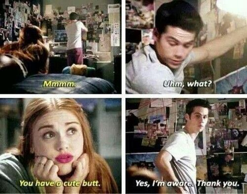 Stydia there is some stalia at the moment though. how come they have only just realised HOW HOT STILES IS!?