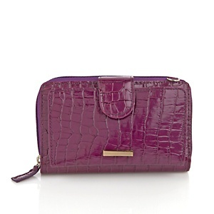 Samantha Brown Slim Cell Phone Leather Wallet at HSN.com.