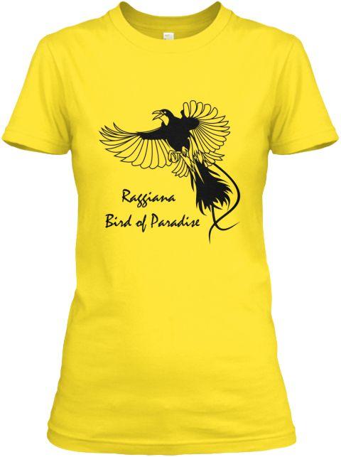 Raggiana Bird Of  Paradise Daisy Women's T-Shirt Front