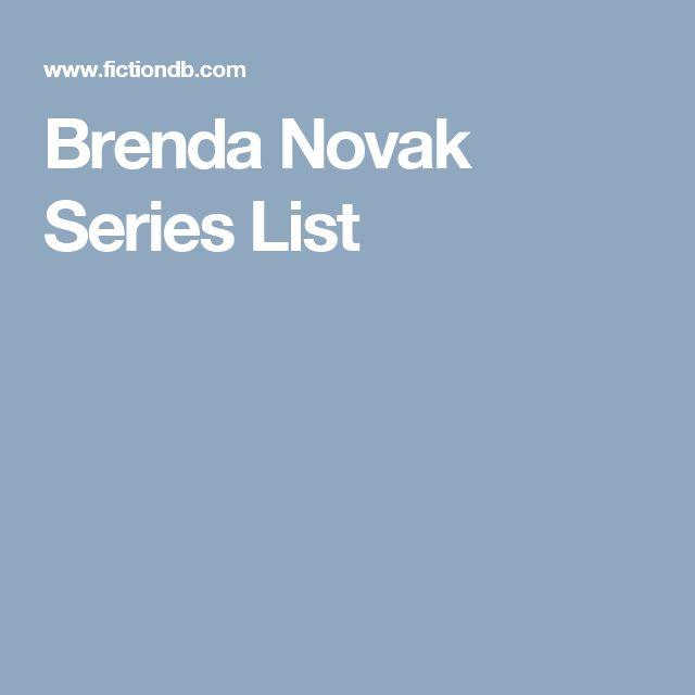 Brenda Novak Series List