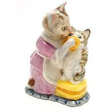 Beswick Beatrix Potter Figurine Tabitha and Mopsy
