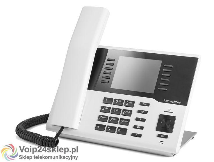 Telefon przewodowy VoIP innovaphone IP222 - biały voip24sklep.pl