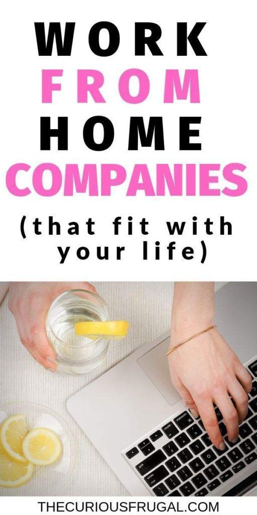 10 of the Best Work From Home Companies u2013 Real Jobs You Can Work At Home If… – Designer.ca