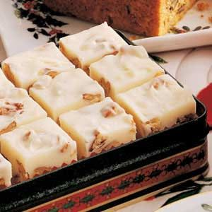 White Pecan Fudge - Each Christmas, I package batches of this rich fudge to send to family and friends. It's just delicious! I eat this all through the year!