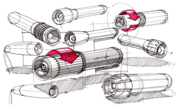 Sketch-A-Day: Daily Sketches from Industrial Designer, Spencer Nugent - Page 389