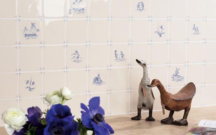 Classic Delft - Hand Painted Tiles - Marlborough Tiles