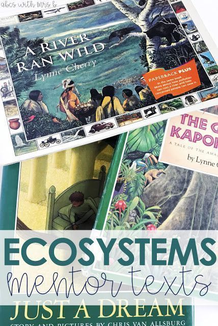 Ecosystems is one of my favorite units to teach in 5th grade! Here are a few mentor texts you can use to integrate content during your science block!