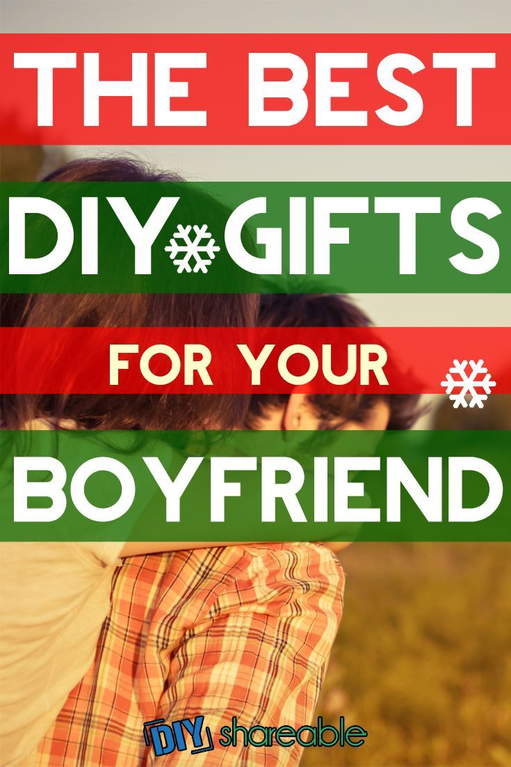 Searching for a Christmas DIY gift for your boyfriend or signifcant other? I found these creative gift ideas that really fit all kinds of occasions, whether it's Christmas, a birthday, a anniversary, or just because!