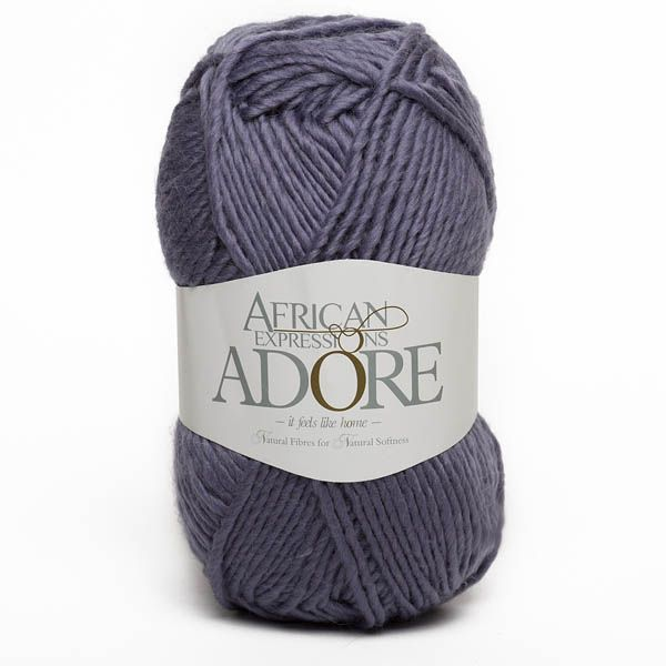 Colour Adore Blue lilac, Chunky weight,  African expressions 8297, knitting yarn, knitting wool, crochet yarn, kid mohair yarn, merino wool, natural fibres yarn.
