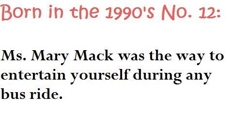miss mary mack mack mack..