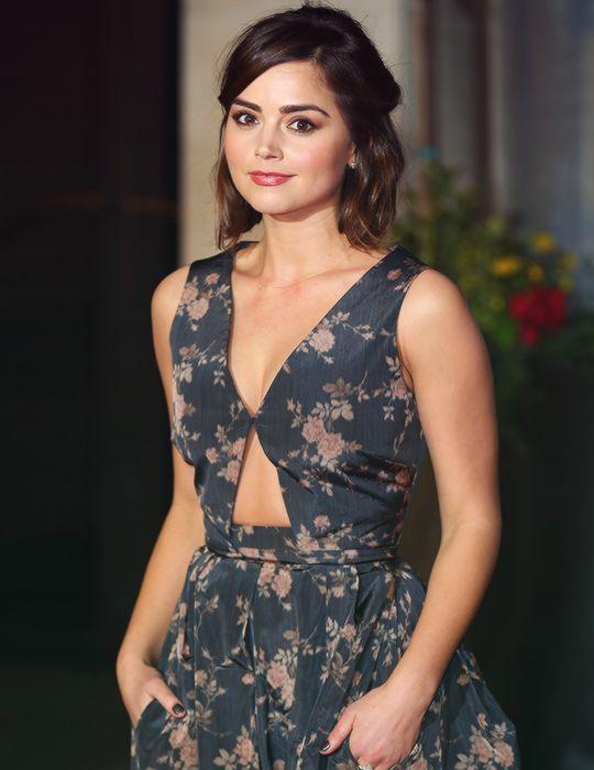 Jenna Coleman at the 2015 BAFTAs