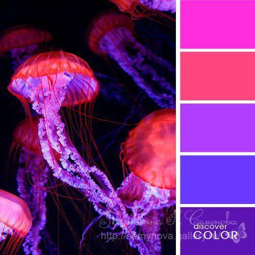 Gallery.ru / Фото #82 - сочетание цвета оттенки сирени и фиолетового - semynova