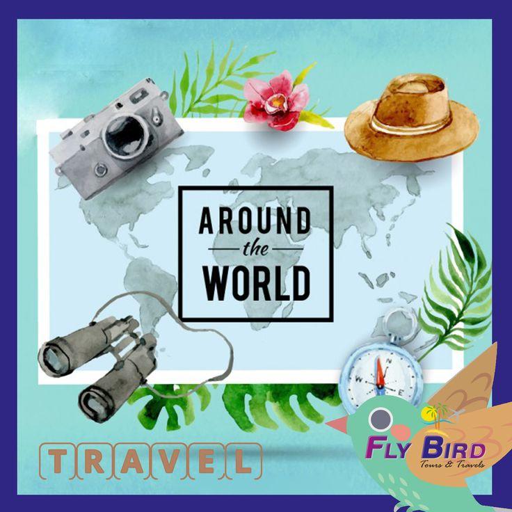Travel around the world! #travel #flybird