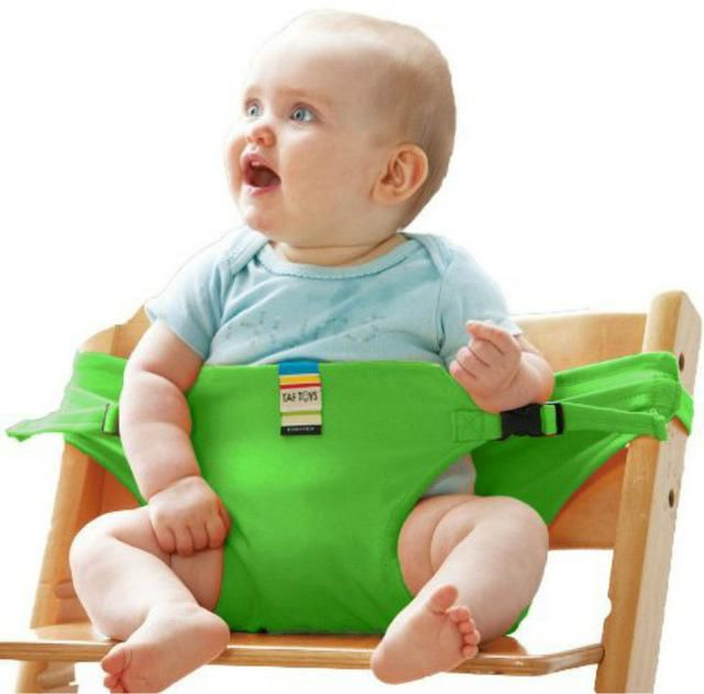 Portable infant feeding safety harness