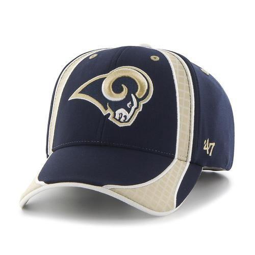 Men's Adjustable Los Angeles Rams Hat Clu MVP Cap