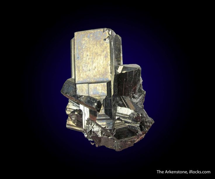 Bournonite, Yaogangxian Mine, Yizhang Co., Chenzhou Pref., Hunan Province, China, Thumbnail, 2.5 x 2.0 x 1.2 cm, A very fine and aesthetic, complete-all-around, cluster of Bournonite crystals from the famous Yaogangxian Mine in China., For sale from The Arkenstone, www.iRocks.com. For more details on this piece and others, visit http://www.irocks.com/minerals/specimen/44798