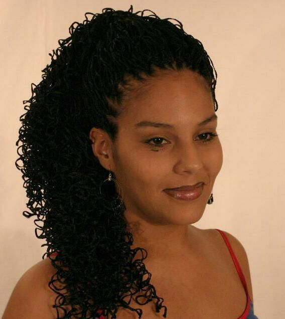 Crochet Hair Micro Braids : How To Do A Crochet Hair Style With Magic Micro Braided Hair ...