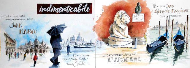 Venise La Zone Touristique Venice The Tourist Quarter