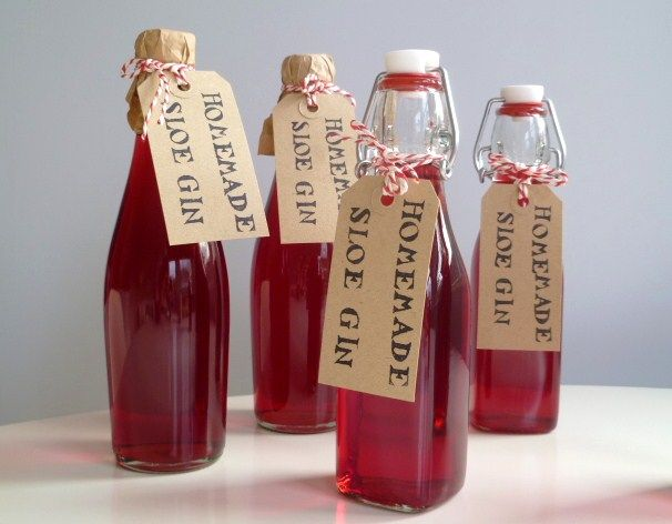 SLOE gin to drink quickly tho...giving friends a gift of homemade sloe gin is a nice touch, SO seasonal too!