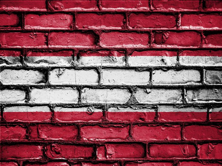 #austria #banner #brick #bricks #country #emblem #flag #nation #national #patriot #patriotic #patriotism #symbol #wall 4k