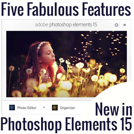 Melissa's back sharing all the fabulous new features in PSE 15 that scrapbookers have been waiting for!