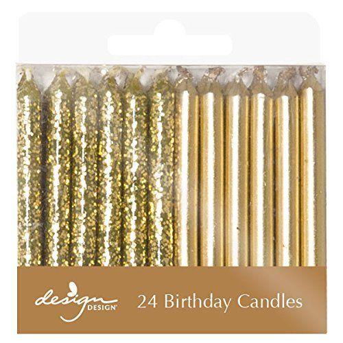 Design Design Metallic Birthday Candles, Gold by Design Design, http://www.amazon.com/dp/B01D5UOF20/ref=cm_sw_r_pi_dp_x_ZoOrzb1N234GJ