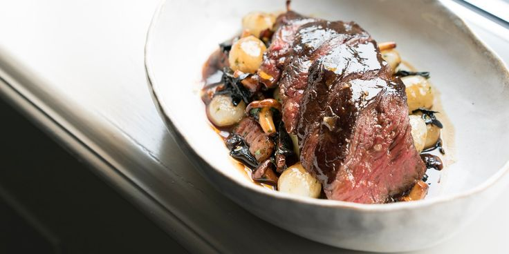 This sumptuous grilled onglet recipe from Andy McLeish demonstrates how taking care over the preparation and paring of ingredients pays off in bounds.