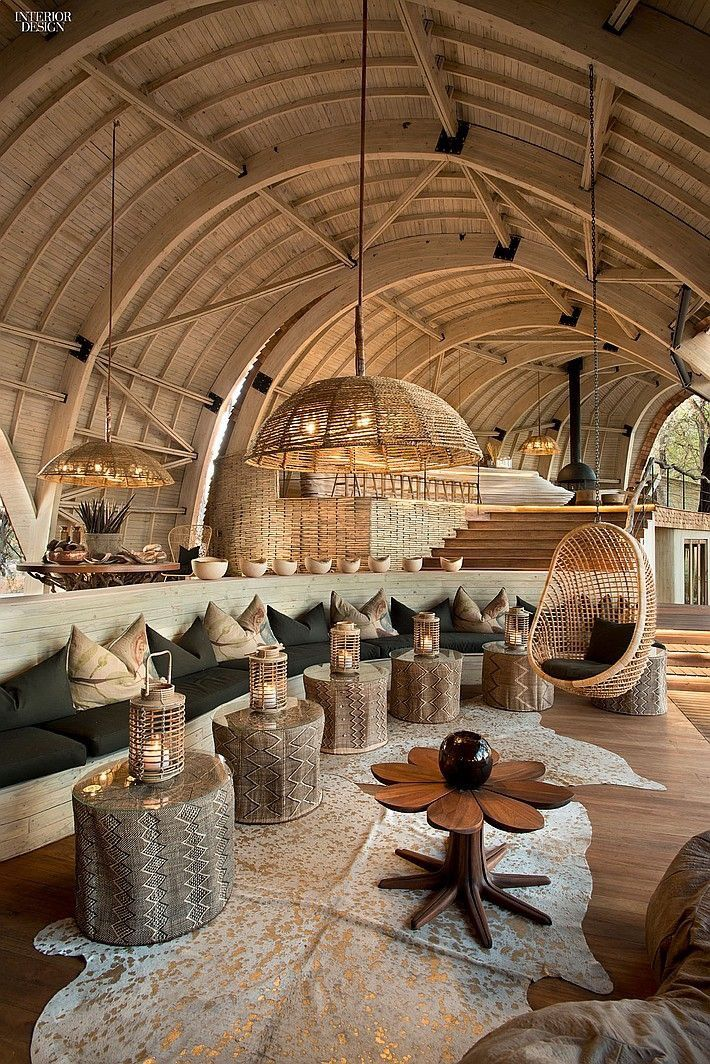 Beautiful destinations. Luxurious safari lodge