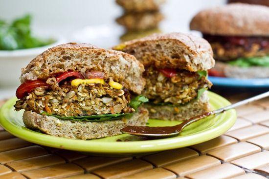 Perfect Veggie Burger - #health #food #recipe