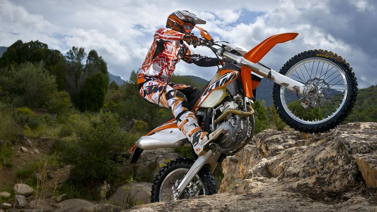 KTM 500 EXC Freestyle HD Wallpaper | MotoCross | Pinterest ...