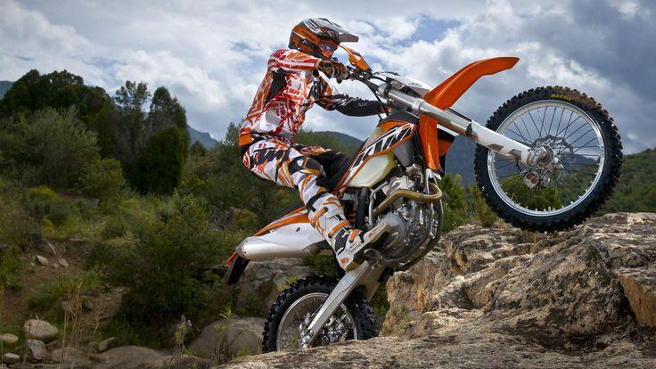 Ktm Bikes Wallpapers: KTM 500 EXC Freestyle HD Wallpaper