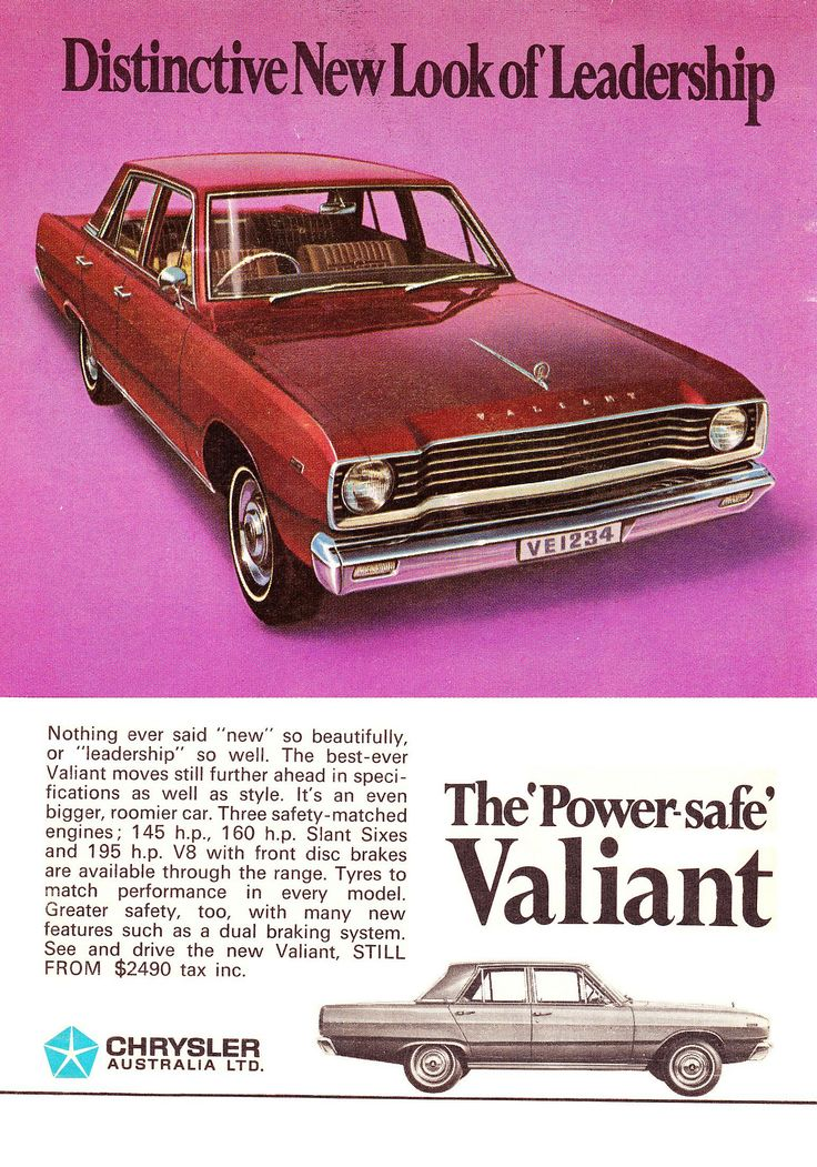 https://flic.kr/p/eXU9hk   1968 VE Chrysler Valiant Sedan Aussie Original Magazine Advertisement
