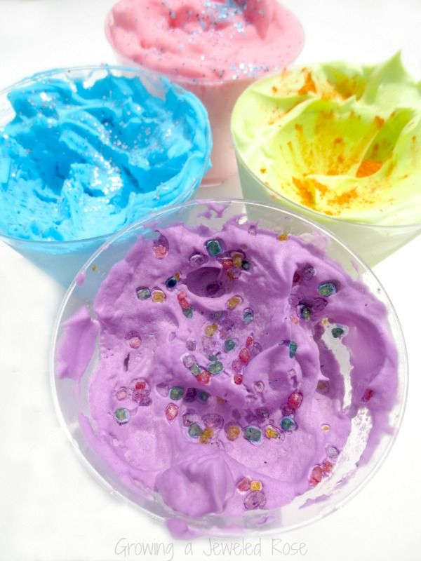 49 best images about school muck mess mixtures on for Shaving cream paint