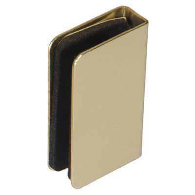 Hillman 881685 2-Pack Brass Cabinet Strike Plate
