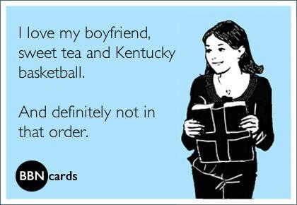 Kentucky girls, haha