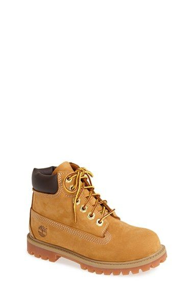 Timberland Premium Waterproof Boot (Toddler, Little Kid & Big Kid) available at #Nordstrom