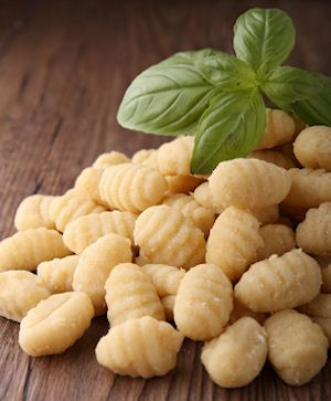 Sweet Potato Gnocchi with Nutmeg