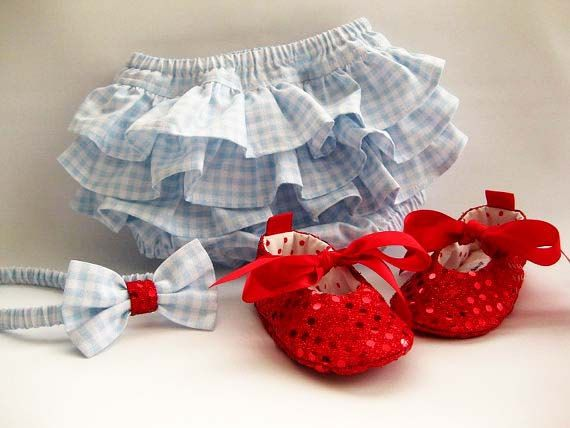 Girls diaper cover Wizard of Oz- Dorothy