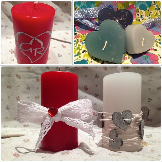Speciale San Valentino  Candele romantiche di GioCandles su Etsy