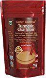 Golden Goddess Turmeric Chai Elixir  Delicious Gourmet Vegan Instant Beverage Mix Award-Winning Best Supplement for Weight Loss  Stress Relief  Cortisol Manager  Adrenal Support