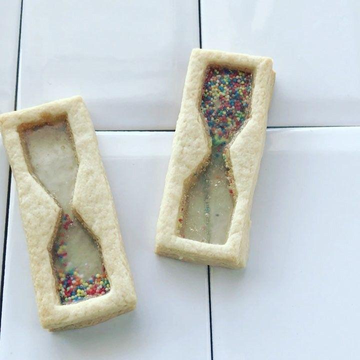 砂が動くクッキー!? Instagramで人気「砂時計クッキー」の作り方 | エイ出版社