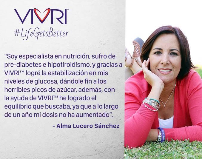 Hoy les compartimos el testimonio de Alma, una especialista en nutrición qué confío en #Vivri y se dejó sorprender por la forma en que su vida mejoró. ¡Anímate a cambiar tu vida! www.vivri.com/vbg #retovivri #historiasvivri #vivri