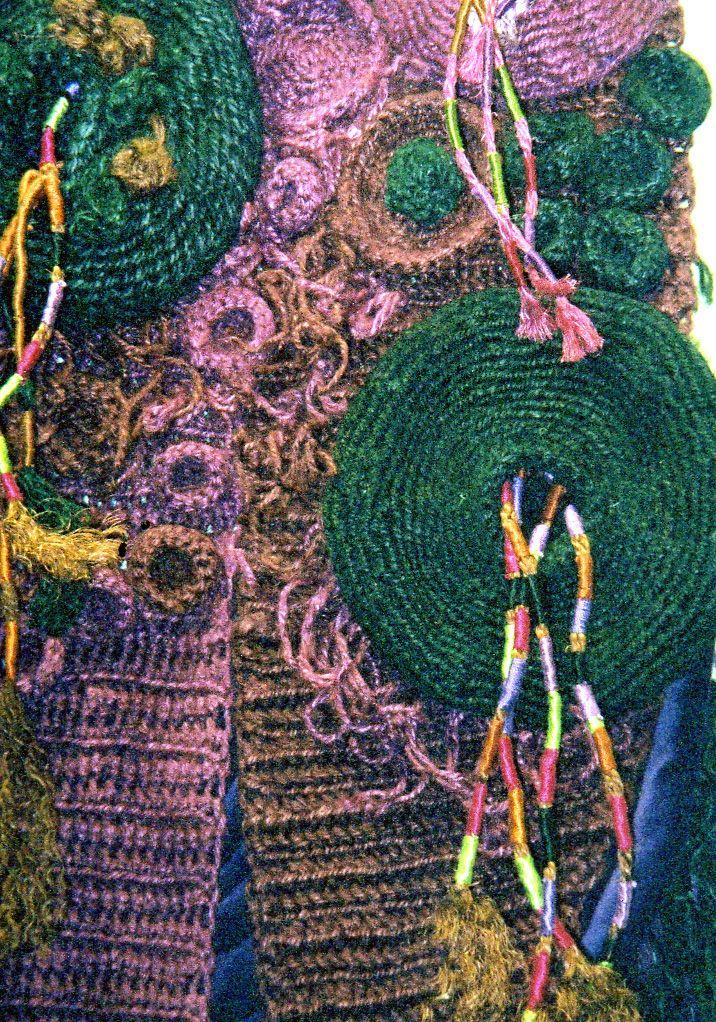 Jan Cook Jute crochet construction