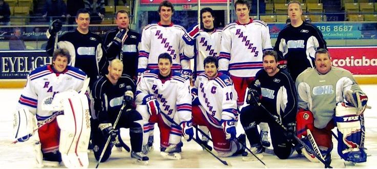 Kitchener Rangers & Blue Crew - Shootout Photo, 2011/2012 Season.