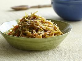 Slaw pasta? Might be a good gluten free meal....