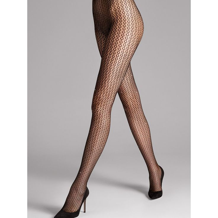 Wolford Comet Tights with hand beaded Swarovski crystals.