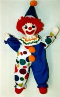 Pompey The Clown Doll E-Pattern From Judith Prior of Comedy Scripts and Sculptured Cloth Dolls