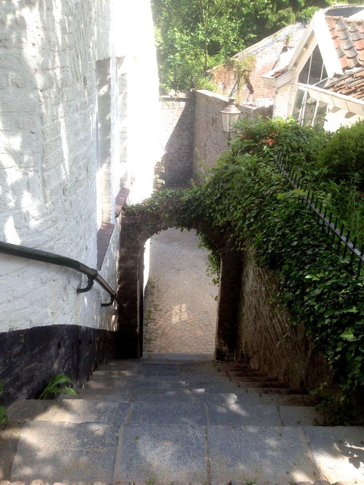 Poort naar stadsomwalling-favourite spot van veel Maastrichtenaren