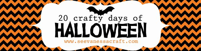 20 Crafty Days of Halloween from See Vanessa Craft